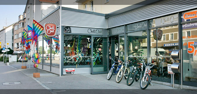 Chill Out Cruiser Store Fahrradladen in Augsburg